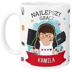 Personalizowany Kubek dla GRACZA Gamera Kobiety