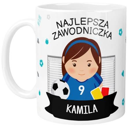 Personalizowany Kubek dla Piłkarzy z Imieniem Nr Koszulki